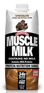 Muscle Milk Chocolate Carton